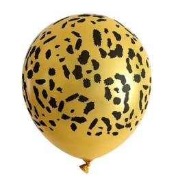 Ballon luipaard, 5 stuks