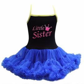Frozen jurk Anna Little Sister