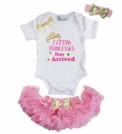 Little Princess Has Arrived + haarband