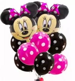 Minnie Mouse ballon set PINK (12-delig)