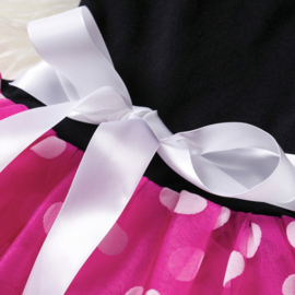 Minnie Mouse jurk pink (2-delig)