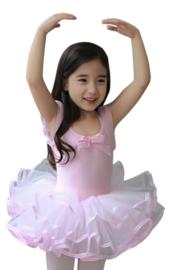 Balletpak roze met strik