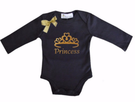 Princess lang/korte mouw zwart