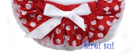 Baby Pettiskirt Minnie Mouse Rood