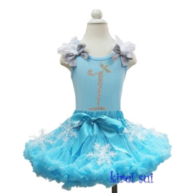 Frozen prinses Elsa set, 1 jaar (maat 80/86)
