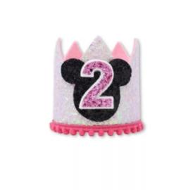 Haarkroon Minnie Mouse, 2 jaar