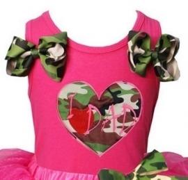Top I Love Dad - pink