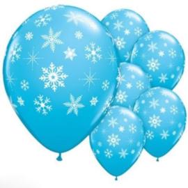 Frozen Ballonnen - BLAUW - 4 stuks