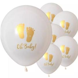 Ballonnen, Oh Baby voetjes