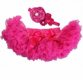Pettiskirt Pink + haarband
