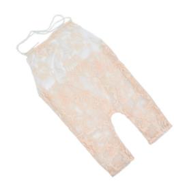 Newborn jumpsuit champagne/peach