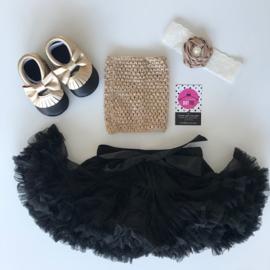 Babyset goud-zwart (4 delig)
