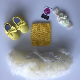 Babyset geel (4 delig)