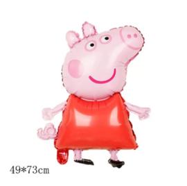 Peppa Pig rood jurkje