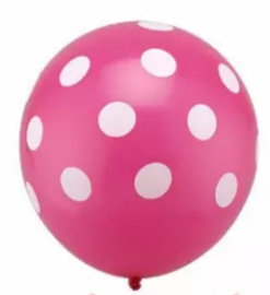Minnie Mouse Ballon PINK - 5 stuks