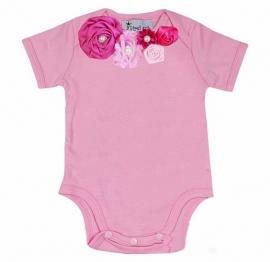 Baby shirt roze/pink