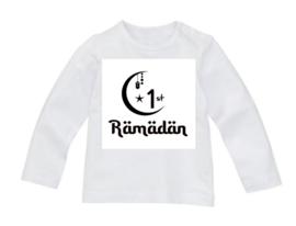 Shirt /romper 1st Ramadan + naam