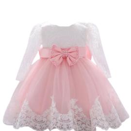Luxe jurk Mimi blosjesroze