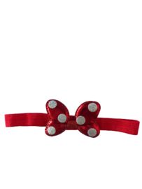 Minnie Mouse haarband rood