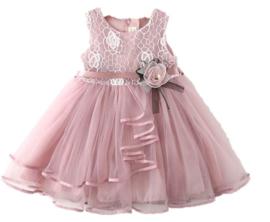 Romantische jurk DUSTY PINK