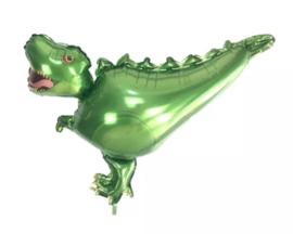 Folieballon Dino, groen