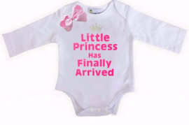 Little Princess Has Finally Arrived wit