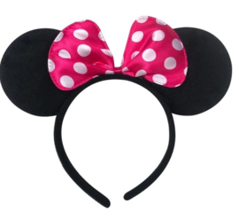 Minnie Mouse pink met stippen *