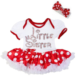 Minnie Mouse babyjurk Little Sister
