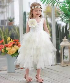 Romantisch jurk Coco wit