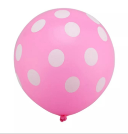 Minnie Mouse Ballon ROZE - 5 stuks