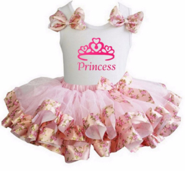 Tutu Satijn set Princess romantisch