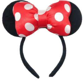 Minnie Mouse rood diadeem 3D luxe