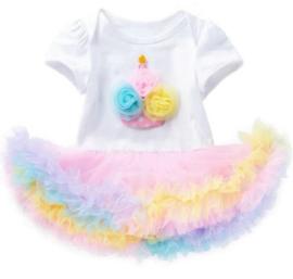 Verjaardag jurkje Cupcake
