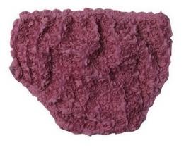 Luierbroekje roosjes vintage paars