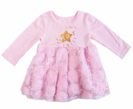 Born To Be A Star glitter roze longsleeve