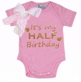 Baby shirt Verjaardag
