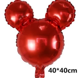 Minnie  Mouse folie ballon rood