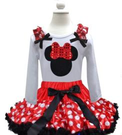 Minnie Mouse set stippen