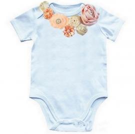 Baby shirt Perzik