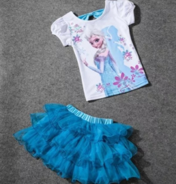 Frozen tutu set Elsa