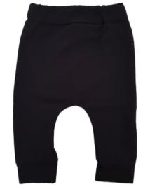 Baby baggy broekje zwart