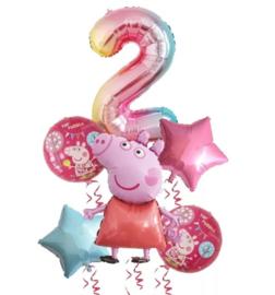 Peppa Pig 2 jaar (6-delig)