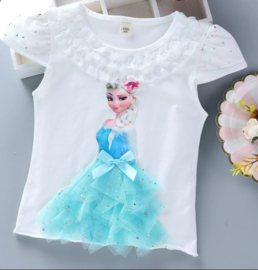 Frozen t-shirt wit