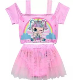 Bikini LOL unicorn roze