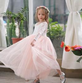Romantisch jurk Charlotte mellow rose