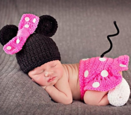 Minnie Mouse fotoshoot