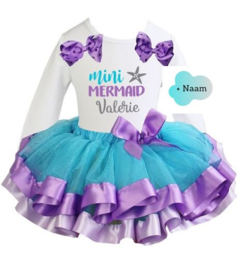 Zeemeermin set Mini Mermaid + eigen naam