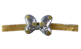 Minnie Mouse haarband goud
