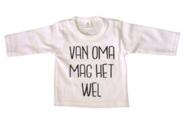 T shirt/romper Van oma mag het wel
