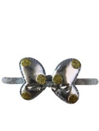 Minnie Mouse haarband zilver